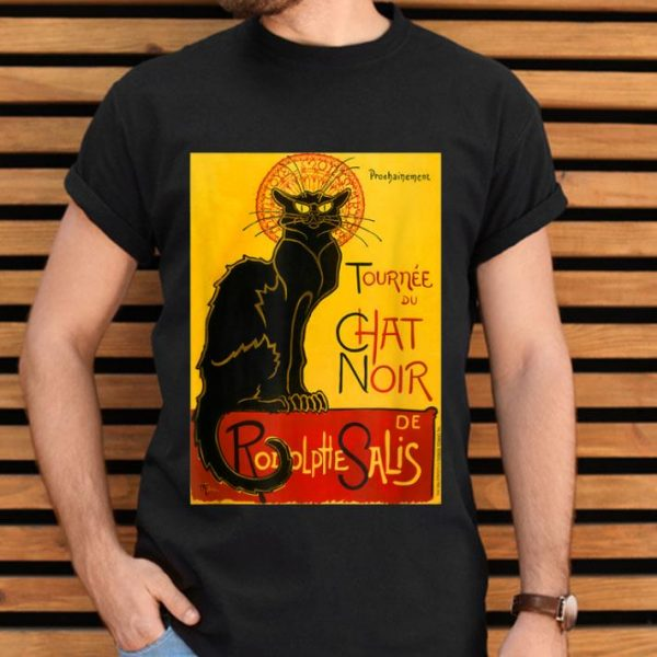 Le Chat Noir The Black Cat Art Nouveau Vintage shirt