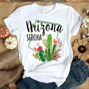 Love Sedona Arizona Blooming Cactus Flowers shirt