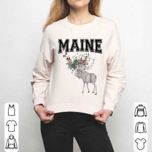 Maine Moose For And Kids shirt