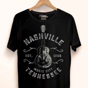 Nashville Music Lover City Usa Vintage shirt