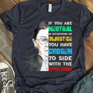 Notorious RBG Ruth Bader Ginsburg Feminist Quote shirt