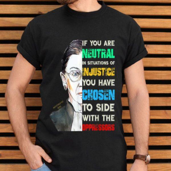 Notorious RBG Ruth Bader Ginsburg Feminist Quote shirt