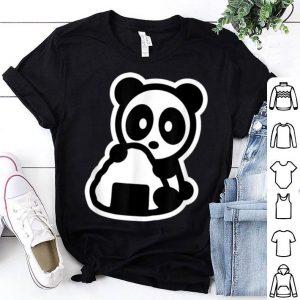 Panda Onigiri Bambu Brand Japan Sushi Food Snack Rice Cute shirt