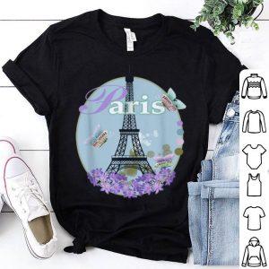 Paris Eiffel Tower Flower Souvenir shirt