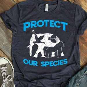 Protect Our Species Earth Day 2019 shirt