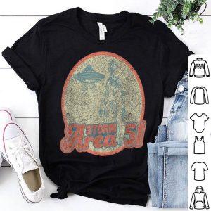 Retro Alien Storm Area 51 shirt