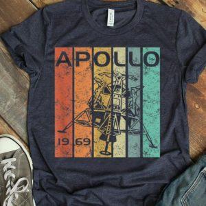 Retro Apollo 11 50th Anniversary Moon Landing 1969 2019 shirt