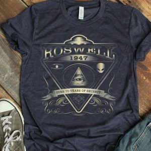 Roswell 1947 Alien - Vintage Style UFO Area 51 shirt