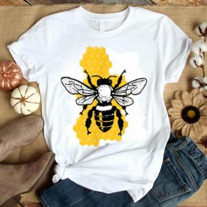 Save The Bees Beekeeper Honeycomb Environmentalists shirt
