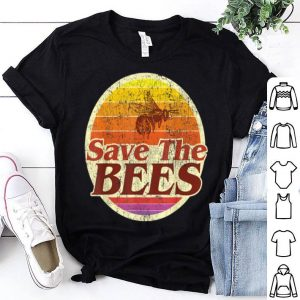 Save The Bees Vintage Retro Distressed shirt