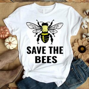 Save The Bees Vintage Sunset Bees shirt