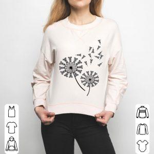 Schnauzer Flower, Dandelion Schnauzer Dog shirt