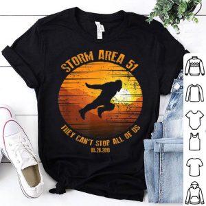 Storm Area 51 Vintage Bigfoot Running Apparel shirt