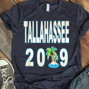 Tallahassee Sandy Beach Palm Tree Vacation 2019 shirt