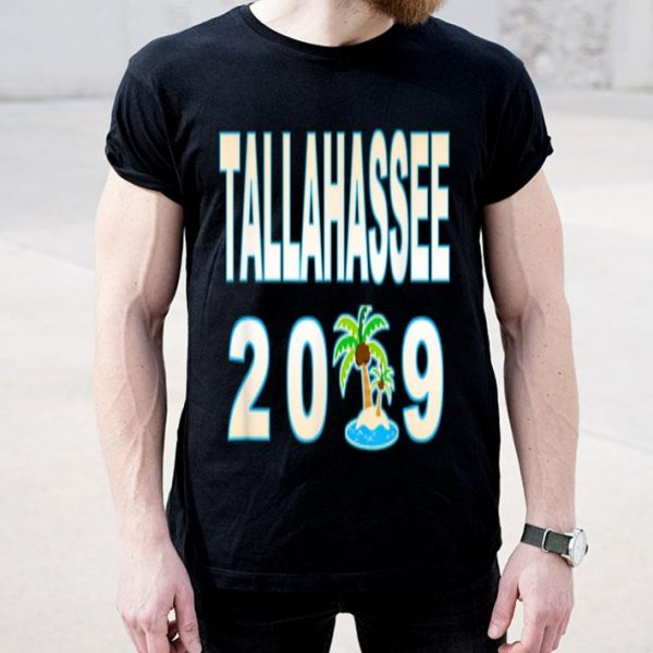 Tallahassee Sandy Beach Palm Tree Vacation 2019 shirt