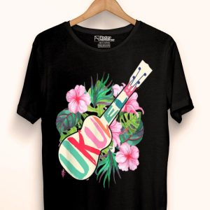 Ukulele Hawaii Tropical Music Lover Ukulele Player shirt