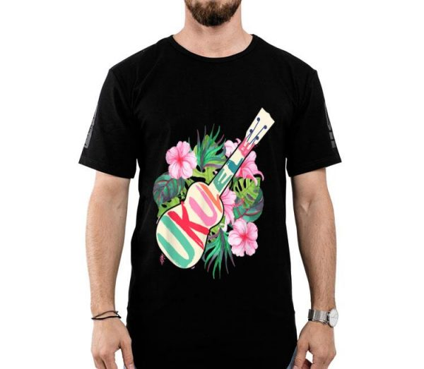 Ukulele Hawaii Tropical Music Lover Ukulele Player shirt
