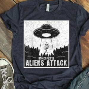 Vintage Aliens Attack Area 51 shirt
