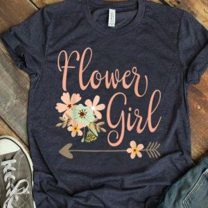 Wedding Flower Girl - Bridesmaids shirt