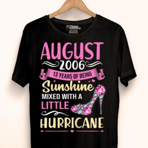 August Girls 2006 13 Years Old shirt