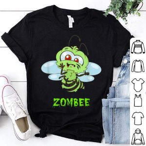 Awesome Cute Zombee Unique Bumble Buzzing Bee Funny Halloween shirt