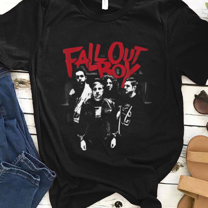 Awesome Fall Out Boy Punk Scratch shirt 1 - Awesome Fall Out Boy Punk Scratch shirt