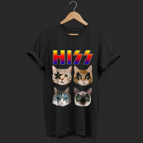 Awesome Hiss Cats Kittens Rock shirt