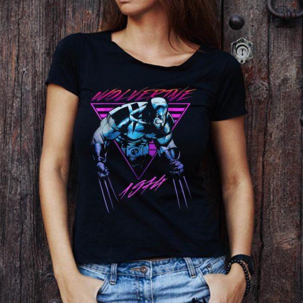 Awesome Marvel X-Men Wolverine Neon Retro shirt