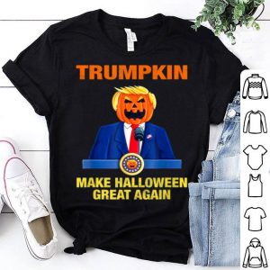 Awesome Trumpkin Make Halloween Great Again Funny Trump Gift shirt