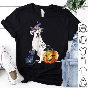 Beautiful Great Dane Dog Halloween Harlequin shirt