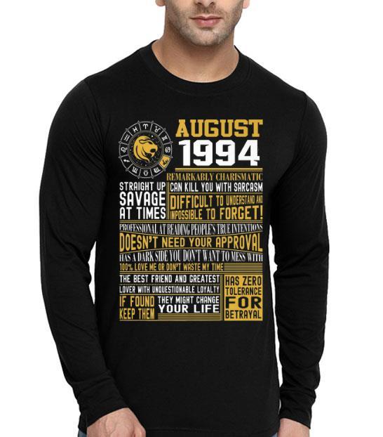 Born August Leo 1994 Birthdays Premium shirt