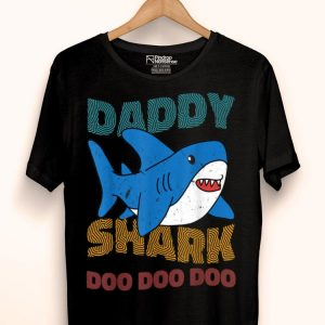 Daddy Shark Father's Day Grandpa Halloween Christmas shirt