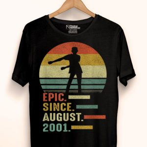 Epic Since August 2001 Floss Like A Boss 18th Bday shirt