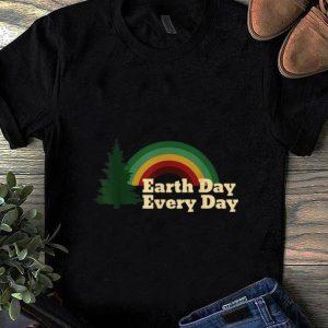 Hot Earth Day Everyday Rainbow Pine Tree shirt