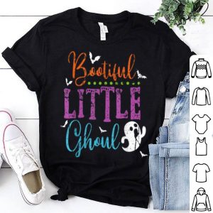 Hot Funny Boo-tiful Little Ghoul Halloween Costume Ghost Kids shirt