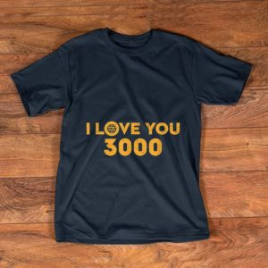 Hot Marvel Avengers Endgame Iron Man I Love You 3000 shirt