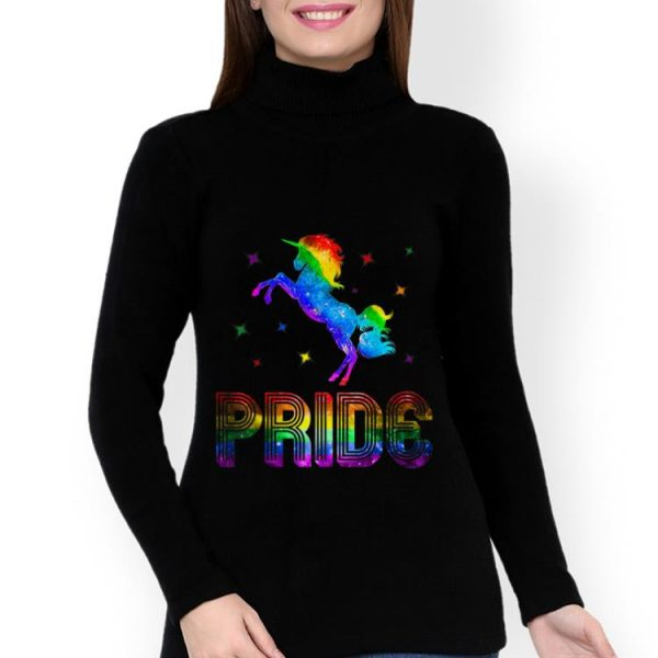 Hot Pride Rainbow Unicorn LGBT Gay shirt