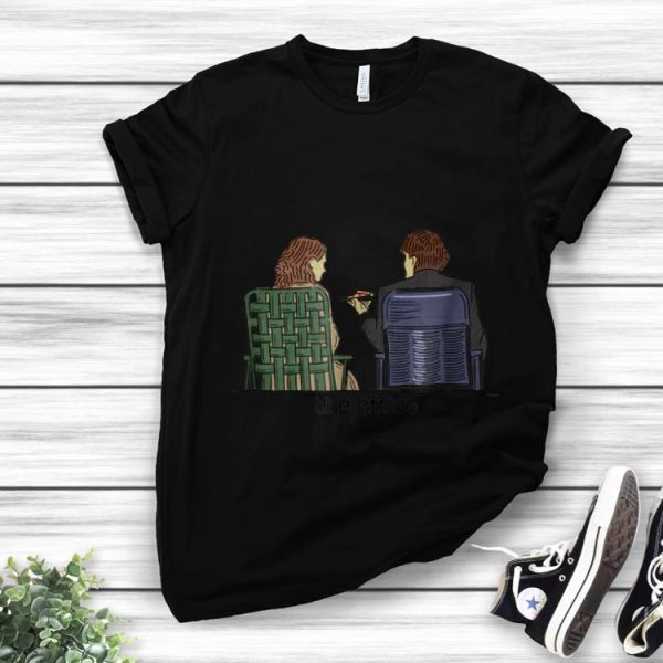 Hot The Office Jim and Pam Roof Date shirt