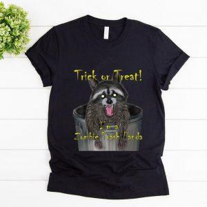 Hot Trick Or Treat I'm A Zombie Trash Panda shirt