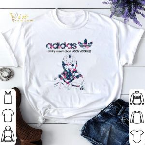 I dream about Jason Voorhees adidas all day shirt