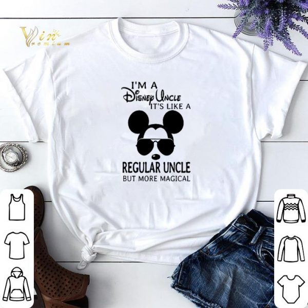 I'm a Disney uncle it's like a regular uncle but more magical shirt sweater