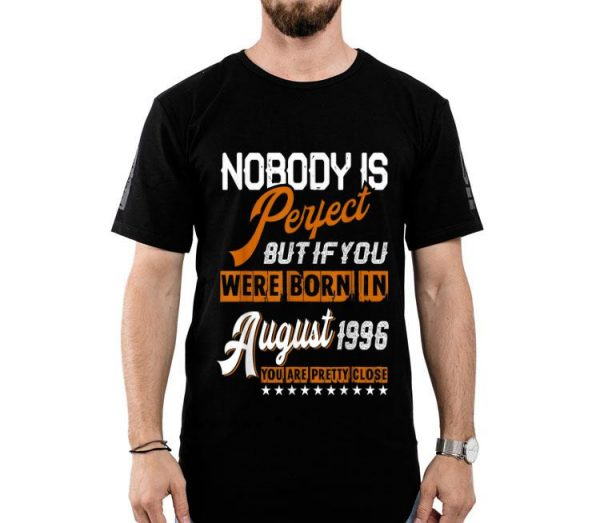 Legends Vintage Made In August 1996 23rd Birthday shirt