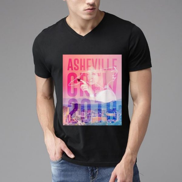 Nice Asheville Crew 2019 Side Piece Action shirt