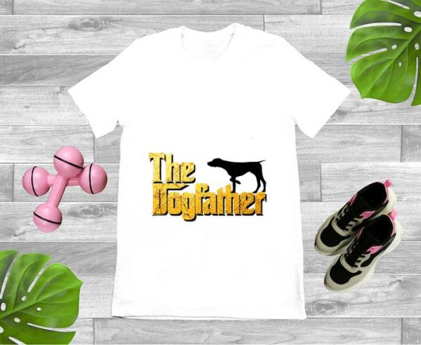 Nice German Wirehaired The Dogfather shirt