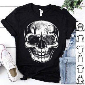 Nice Halloween Skulls Distressed Vintage For Halloween shirt