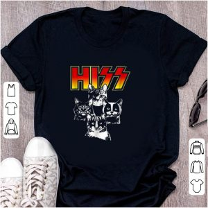 Nice Hiss Kitten Cats Rock shirt