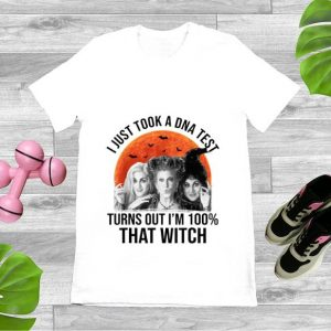Nice Hocus Pocus I Just Took A DNA Test Turns Out I'm 100% That Witch shirt