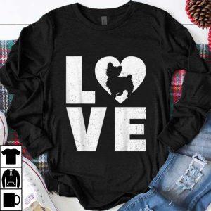 Nice Shih Poo Dog in Heart Love shirt