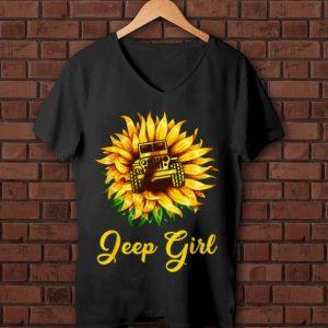 Nice Sunflower Jeep Girl shirt