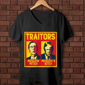 Nice Traitors Moscow Mitch Moscow's Bitch McConnell Trump shirt